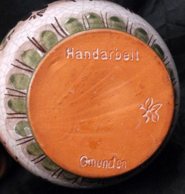 Handarbeit  Gmunden  Pottery  Milk Pitcher