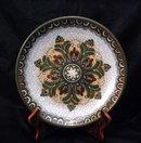Handarbeit  Gmunden  Decorative Pottery Plate