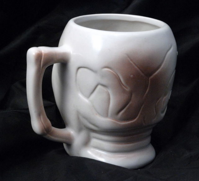 Ceramic Scull Coffee Mug