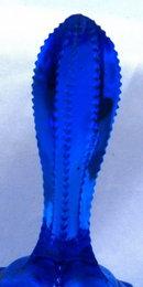 Cobalt Blue Fenton  Hobnail Bell