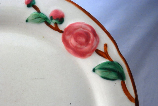 Desert Rose Design Platter 13
