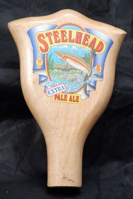 Steelhead Extra Pale Ale Wood Tap Handle