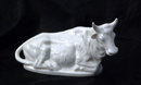 White Porcelain Cow (with horns) made by GHC Japan