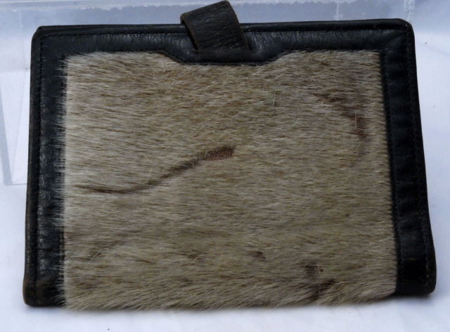 Real Seal Fur / Coach Hide Wallet   by Noymer