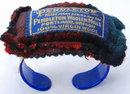 Pendleton Wool  Plaid Wrist Pin Cushion