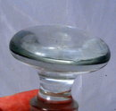 Large Crystal Glass Stopper for Decanter