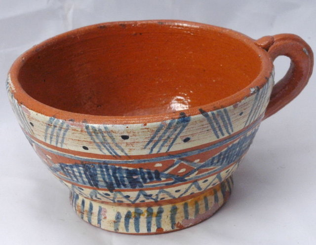 Old Mexican Pottery Cup