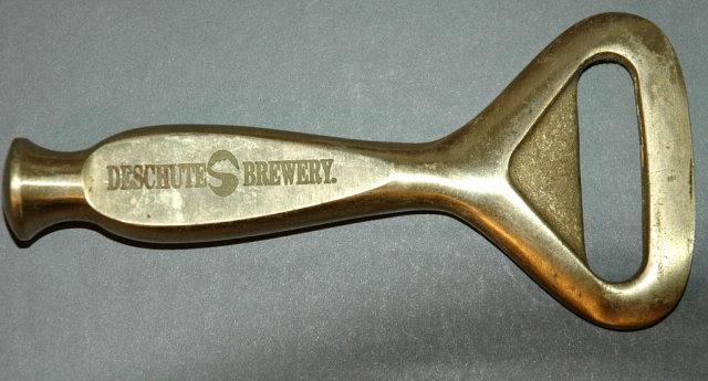 Deschutes Brewery Heavy Brass Bottle Opener