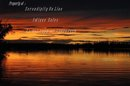 Original Photo  Sunset at Watson Lake  Yukon Territory , signed