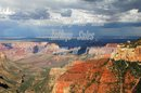 Original Photo  Storm Watching  North Rim of the Grand Canyon  , signed