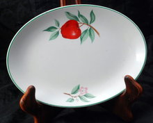 Rhythm by Homer Laughlin China Oval Serving Dish or Celery Dish