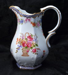 Hand painted Porcelain Pitcher marked Limoges China