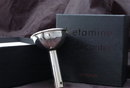 L' ETAMINE A DECANTER  / French  wine filter , silver plated in box
