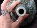 Hand painted Porcelain Sake Set