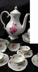 Alka Bavaria Footed Demitasse Tea Set 11 piece serving set.