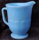 Delphite Blue Glass Milk Pitcher - Pyrex Canada