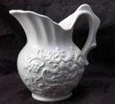Enesco Japan White Ceramic Cream  Pitcher