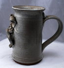Grimes Stoneware Donkey Face Sculptured  Mug Stein * PRICE REDUCED*! .